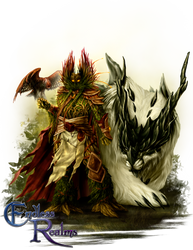 Endless Realms - Beastmaster by jocarra