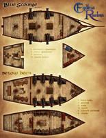 Endless Realms - Brimtide Campaign - Ship Map by jocarra