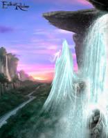 Endless Realms - Waterfall Spirit by jocarra