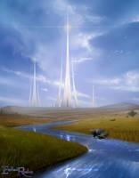 Endless Realms - Al'miren City by jocarra