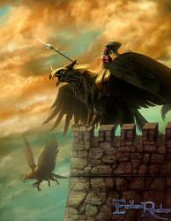 Endless Realms - Griffon Knight by jocarra