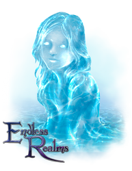 Endless Realms - Ysha, Spirit of Healing Waters by jocarra