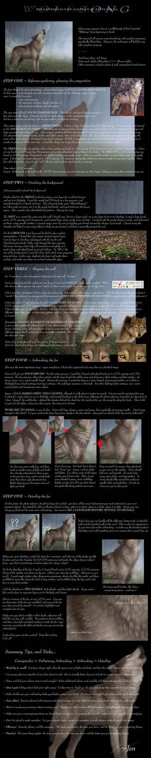 Jen's Fur Tutorial 2 by jocarra