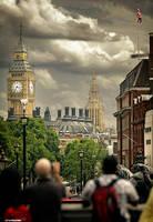 Trafalgar Square by digital-story