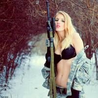Girls and Guns II by digital-story