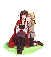 an older sister and her younger sister by NaitouRSE