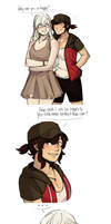 Casual!White rose by NaitouRSE