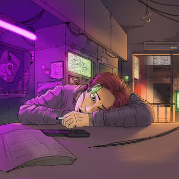 Tired Neon by StopSignal