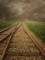 Railway-line3 by gestandene