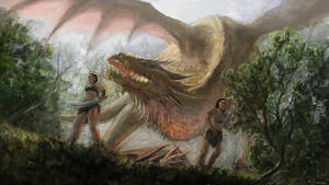 Golden Dragon 1 by Wieszcza