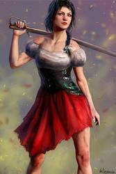 Pirate girl by Wieszcza