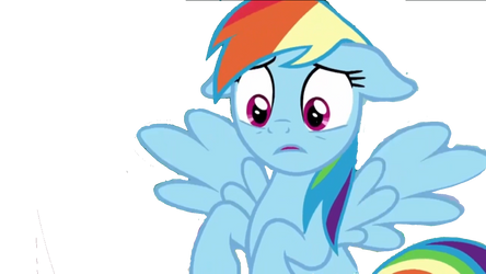 Shocked Rainbow Dash  by StarFantasy14