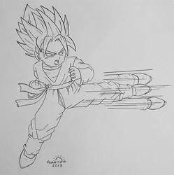 Super Saiya-jin Goten... by pandapopx