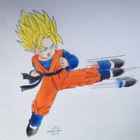 Super Saiya-jin Goten! by pandapopx