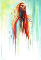 Watercolor by Zansen