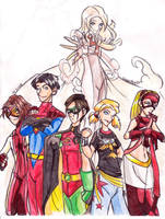 Young Justice-Tweaked, Kinda by crystalAlluvion