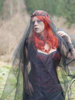 Gothic Girl - Stock 14 by Rosenrot-Photography
