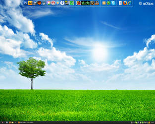 My Clear Desktop by dark-motion