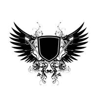Logo for Nation of Disturbia by xcheshkax
