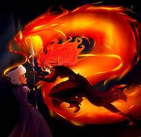 Furious fire by JuliaGoldfox