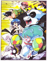 Fight Ranma Fight by CD007
