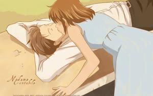 A nice kiss for you by Aracelie-lienie