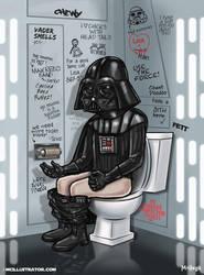 The Force Flush by mcillustrator