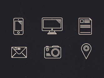 Outline icons (set) by OtherPlanet