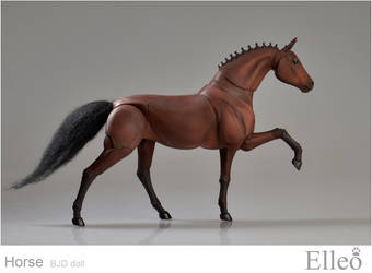 Horse bjd doll 10 by leo3dmodels