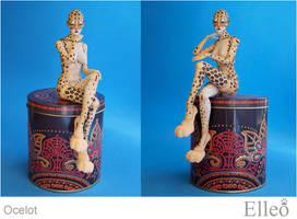 Ocelot Bjd Doll Catbodyart 05 by leo3dmodels