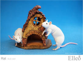 Rat bjd doll 14 by leo3dmodels