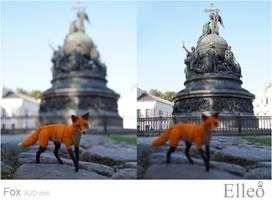 Fox bjd doll 12 by leo3dmodels