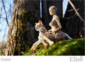 Ocelot Wild Doll Cat 01 by leo3dmodels