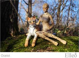 Ocelot Wild Doll Cat 02 by leo3dmodels