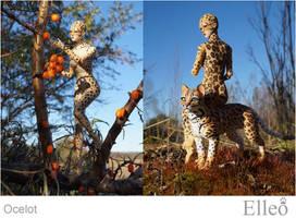 Ocelot Wild Doll Cat 05 by leo3dmodels