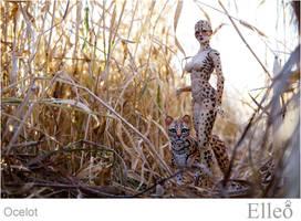 Ocelot Wild Doll Cat 06 by leo3dmodels