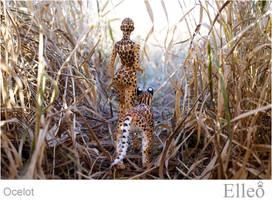 Ocelot Wild Doll Cat 07 by leo3dmodels