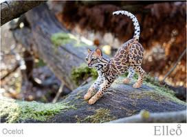 Ocelot Wild Doll Cat 08 by leo3dmodels