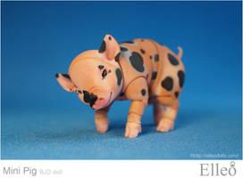 Mini Pig doll bjd 02 by leo3dmodels