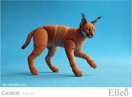 Caracal Bjd Doll 09 by leo3dmodels