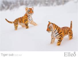 Tiger cub 01 by leo3dmodels