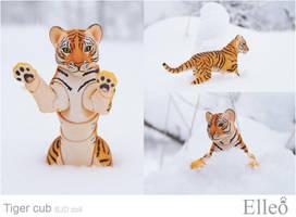 Tiger cub 02 by leo3dmodels