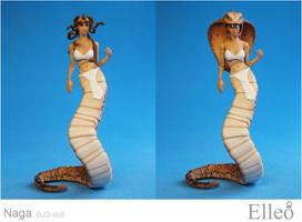 Naga Bjd Doll 03 by leo3dmodels