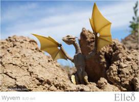 Wyvern dragon bjd doll elleo 14 by leo3dmodels