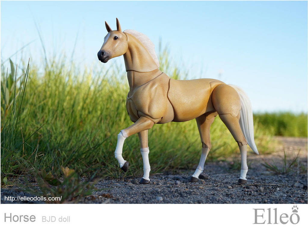 Horse bjd doll 01 by leo3dmodels