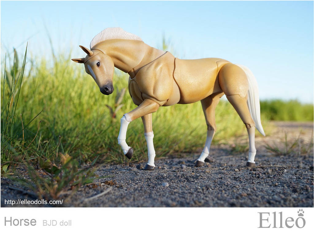 Horse bjd doll 02 by leo3dmodels