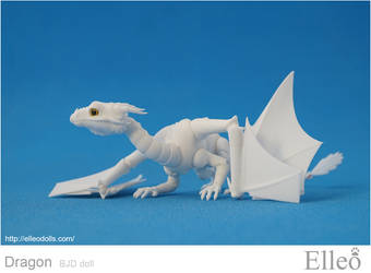 Dragon Bjd Doll 06 by leo3dmodels