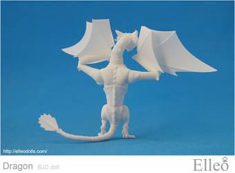 Dragon Bjd Doll 08 by leo3dmodels