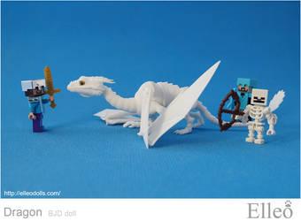 Dragon Bjd Doll 03 by leo3dmodels