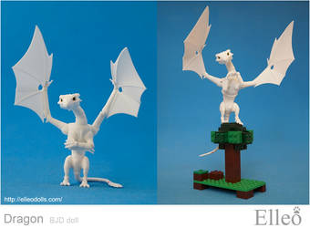 Dragon Bjd Doll 04 by leo3dmodels